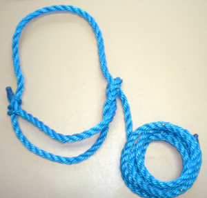 how to clean a rope halter